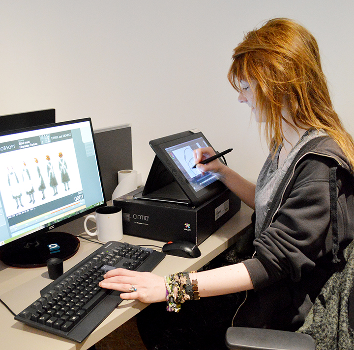 Junior Trainee Animator, Iona Menzies
